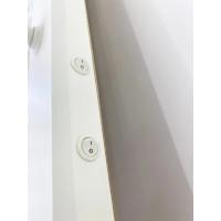 Гримерное зеркало с подсветкой 80х80 Белый